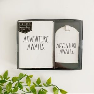 Rae Dunn Passport Cover and Luggage Tag